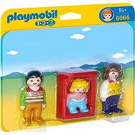 Playmobil 6966 Parents with Cradle - Toddler Toy