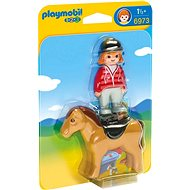 Playmobil 6973 Rider with horse - Toddler Toy