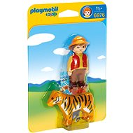 Playmobil Gamekeeper with Tiger 6976 - Toddler Toy
