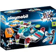 Playmobil 9002 FulguriX Kit with Agent Gene - Building Kit