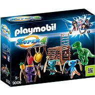 Playmobil 9006 Alien Warrior with T-Rex Trap - Building Kit