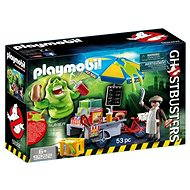 Playmobil 9222 Ghostbusters Slimer with Hotdog Stand - Building Kit
