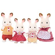 Sylvanian Families A family of chocolate rabbits - Figures