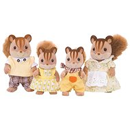 Sylvanian Families Family of brown squirrels - Figures