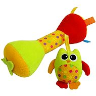 Rappa Baby Owl with sound - Baby Rattle