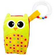 Rappa Mobil Baby owl with melody and rattle - Baby Toy