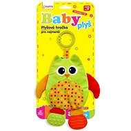 Rappa Baby Owl with mites and clip - Baby Toy