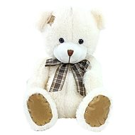 Rappa Bear with ribbon and big patch - Plush Toy