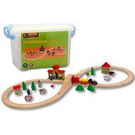 40-Piece Tube Tray - Train Set