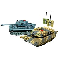 Set of Fighting Tanks - RC Model