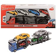 Dickie auto transporter + 4 cars - Toy Car Set