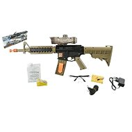 M16 rifle with water pellets - Pistol