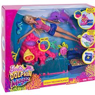 Mattel Barbie Dolphin Magic Ocean Treasure - Play Set