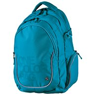 Batoh Teen One Colour tyrkys - Backpack