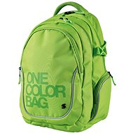Batoh Teen One Colour zelený - Backpack