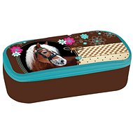 Etue with Sweet Horse flap - Kids' Pencilcase