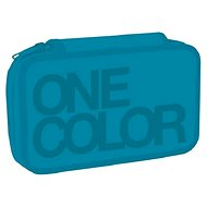 Two-story One Color Turquoise - Pencil Case