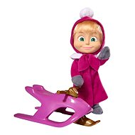 Simba Masha and bear - Doll Masha and snowmobile - Doll