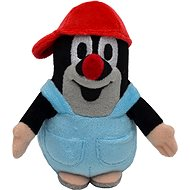 Mole in pants red cap 12cm - Plush Toy