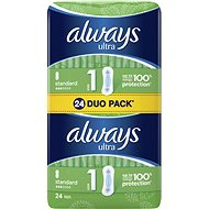 ALWAYS Ultra Standard Duo Pack 24 pcs - Sanitary Pads