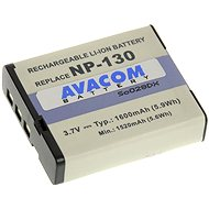 AVACOM for Casio NP-130 Li-ion 3.7V 1600mAh 5.9 Wh - Replacement Battery