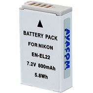AVACOM for Nikon EN-EL22 Li-ion 7.2V 800mAh 5.8Wh version 2014 - Replacement Battery