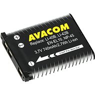 AVACOM for Olympus Li-40B, Li-42B Li-ion 3.7V 740mAh 2.7Wh AVA - Replacement Battery