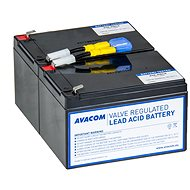 AVACOM replacement for RBC6 - batteries for UPS - Battery Kit