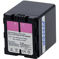 AVACOM for Panasonic VW-VBS10E Ni-Mh 7.2V 2200mAh - Replacement Battery