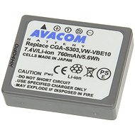 AVACOM for Panasonic CGA-S303, VW-VBE10 Li-ion 7.4V 760mAh - Replacement Battery