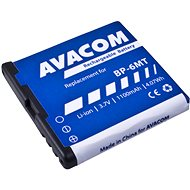 AVACOM for Nokia E51, N81, N81 8GB, N82, Li-ion 3.6V 1100mAh (replacement BP-6MT) - Replacement Battery