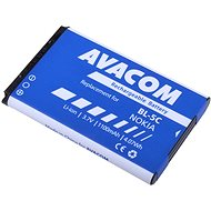 AVACOM for Nokia 6230, N70, Li-ion 3.7V 1100mAh (replacement BL-5C) - Replacement Battery