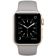 Apple Watch Series 1 38mm Gold Aluminium Case with Concrete Sport Band - Smartwatch