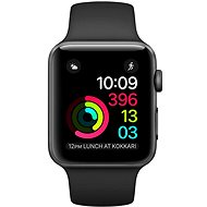 Apple Watch Series 1 42mm Space Grey Aluminium Case with Black Sport Band - Smartwatch