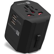 CONNECT IT Power Wanderer - Travel Power Adapter