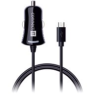 CONNECT IT InCarz Charger with micro USB cable 1.5 metre, black - Charger