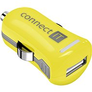CONNECT IT InCarz Charger ONE 2.1A yellow (V2) - Car Charger