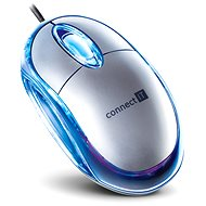 CONNECT IT CI-64 Optical mouse silver - Mouse