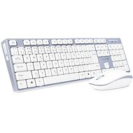 CONNECT IT CKM-7510-CS CZ/SK White - Mouse/Keyboard Set