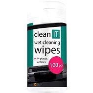 CLEAN IT Wet cleaning wipes for plastic 100ks - Cleaner