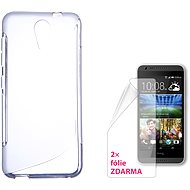 CONNECT IT S-Cover HTC DESIRE 620 clear - Mobile Phone Case