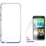 CONNECT IT S-Cover HTC DESIRE 820 clear - Mobile Phone Case