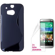 CONNECT IT S-Cover HTC One M8 / M8s black - Mobile Phone Case
