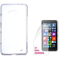 CONNECT IT S-Cover Microsoft Lumia 640 LTE / 640 Dual SIM Clear - Mobile Phone Case