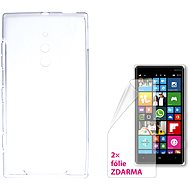 CONNECT IT S-Cover Microsoft Lumia 830 Clear - Mobile Phone Case