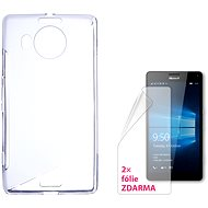 CONNECT IT S-Cover Microsoft Lumia 950 XL / 950 XL Dual SIM clear - Mobile Phone Case
