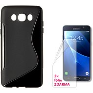 CONNECT IT S-Cover Samsung Galaxy J7 2016 (SM-J710F) black - Mobile Phone Case