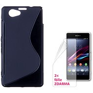 CONNECT IT S-Cover Sony Xperia Z1 Compact black - Mobile Phone Case