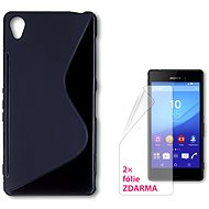 CONNECT IT S-Cover Sony Xperia Z3 black - Mobile Phone Case