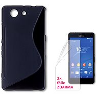 CONNECT IT S-Cover Sony Xperia Z3 Compact black - Mobile Phone Case
